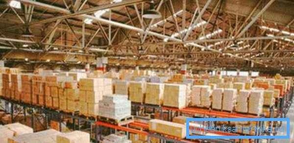 Вентиляция складов обеспечивает сохранность материальных ценностей