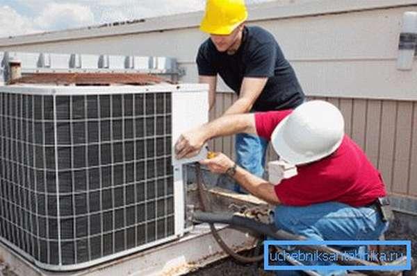 Вентиляционные системы необходимо подвергать периодическому обслуживанию