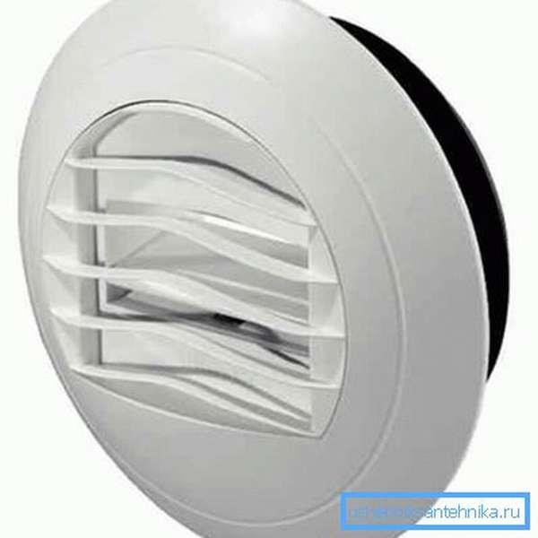 Вентиляционный вытяжной клапан