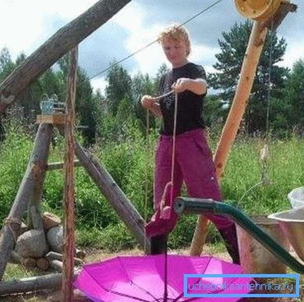 Вентиляция шахты колодца