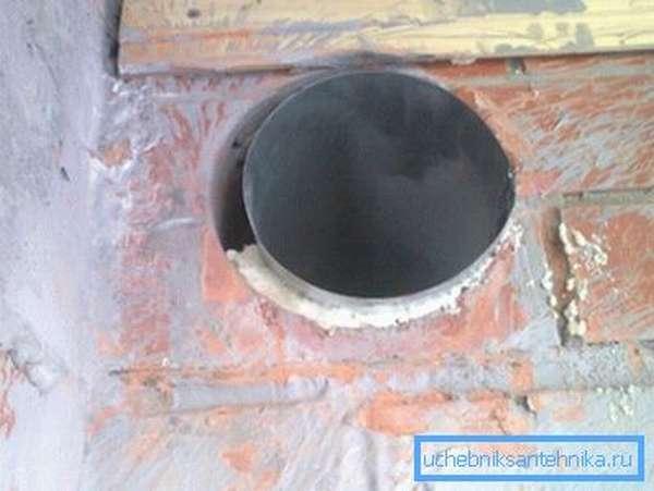 Вентканалы устанавливаются под потолок по одной простой причине – теплый воздух тяжелее холодно, поэтому он равномерно опускается к полу