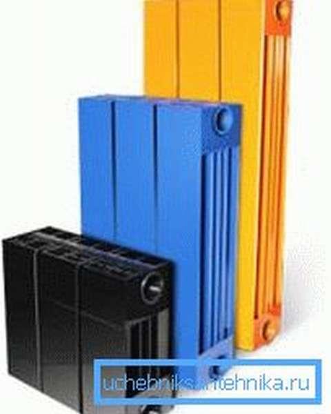Внешний вид радиатора зависит только от ваших предпочтений