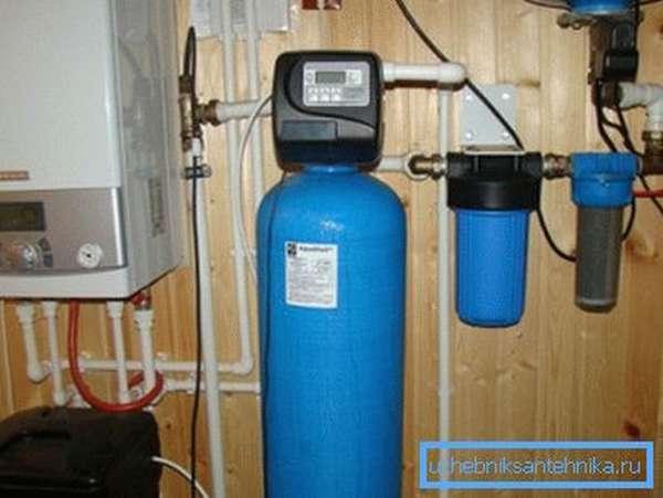 Внешний вид водоочистной установки