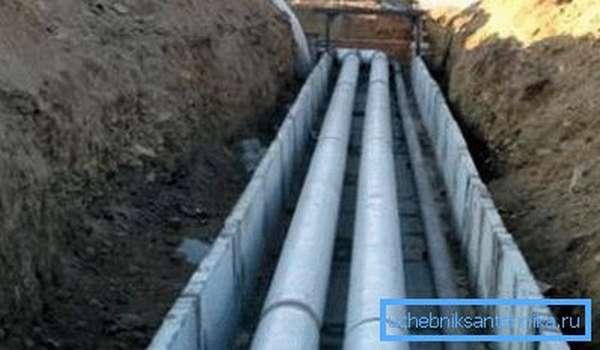 Внешняя система подачи воды должна монтироваться в соответствии с правилами.