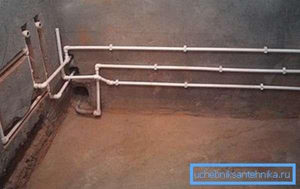 Водопровод из труб ПНД PN10