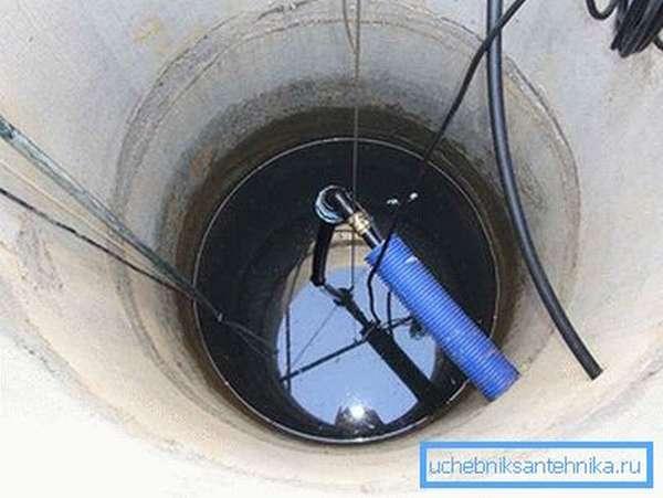 Водозабор из колодца
