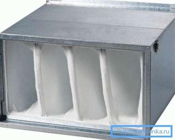 Волокнистый материал для тонкой очистки воздуха