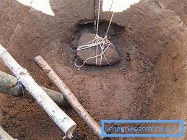 Вопрос, как одному выкопать колец, практически не решаем с точки зрения объема работ и не должен решаться с точки зрения их безопасности