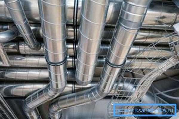 Воздуховоды в промышленных системах