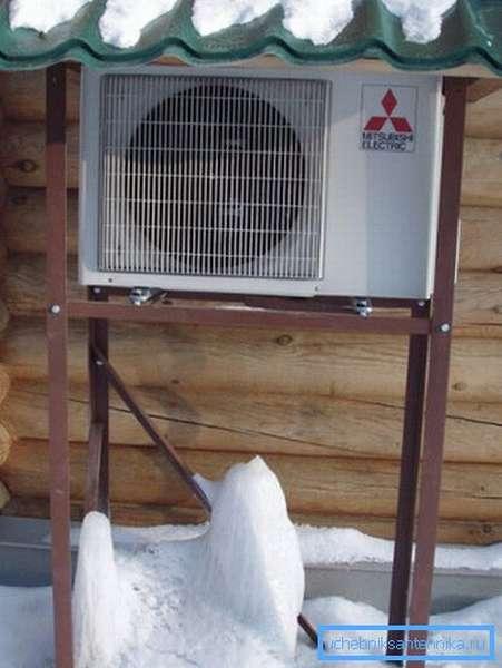 Воздушный тепловой насос - самый выгодный источник тепла в отсутствие магистрального газа.