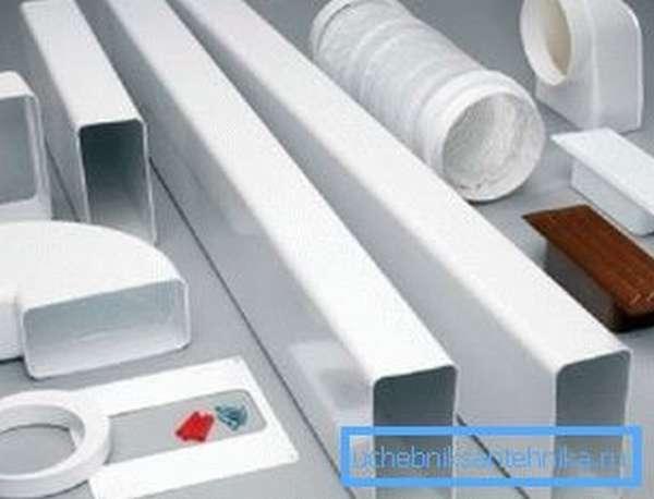 Все, что понадобится для монтажа пластиковой вентиляции