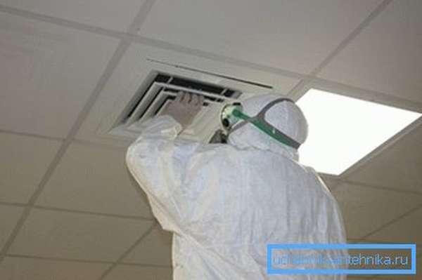 дезинфекция вентиляции в медицинских учреждениях