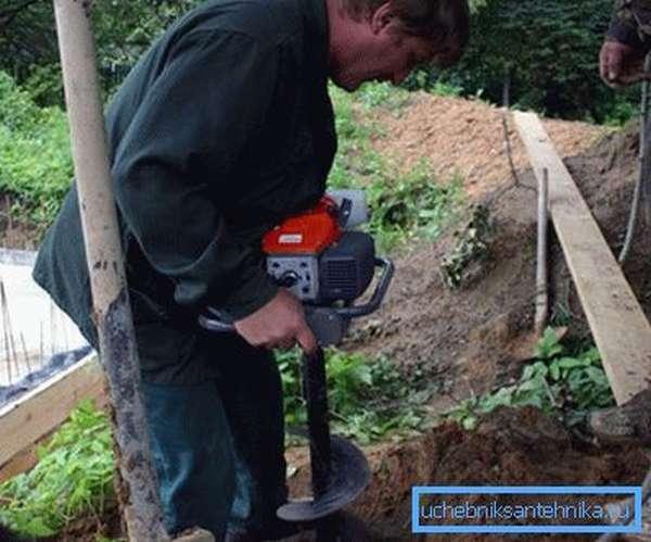 Вспомогательное оборудование для бурения в земле