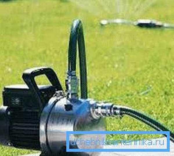 Встроенный эжектор повышает надежность и долговечность насоса.