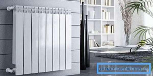 Выбор биметаллического радиатора украсит ваш интерьер.