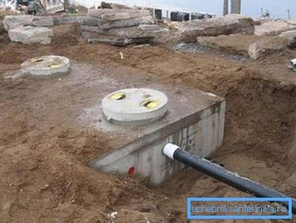 Выгребная яма для туалета в частном доме