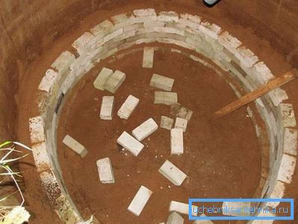 Выкладывание стен и трамбовка глиной