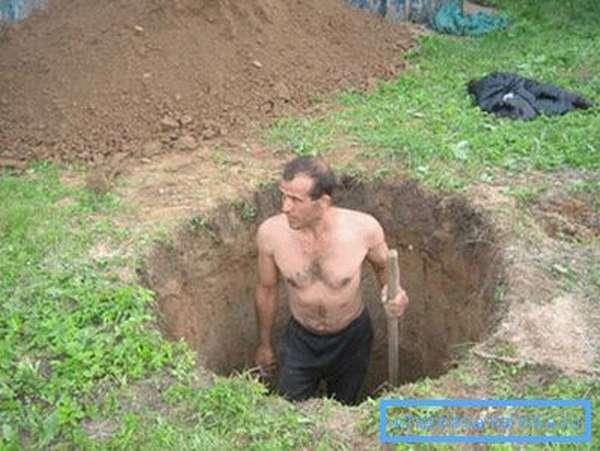 Выкопать колодец можно самостоятельно
