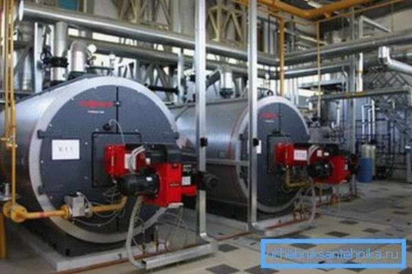 Выработка тепла осуществляется на мощном оборудовании