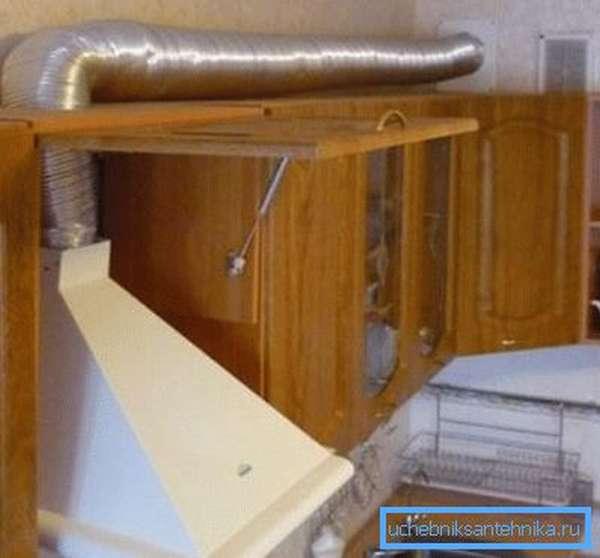 Вытяжная кухонная вентиляционная система
