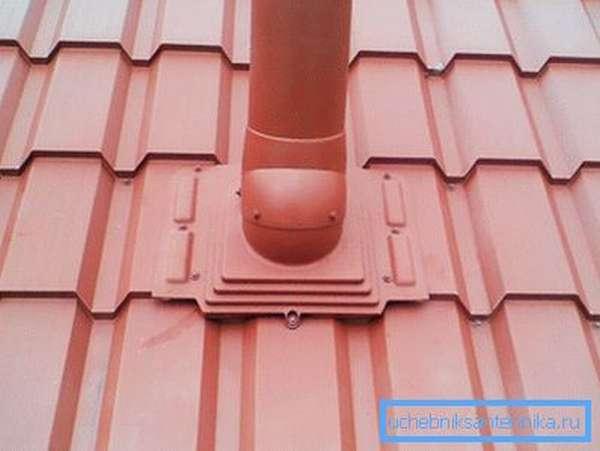 Вывод на крышу