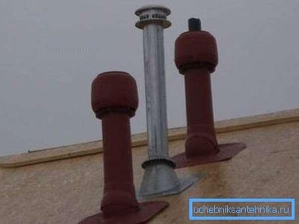 Вывод вентиляционных каналов – важный этап установки воздуховодов
