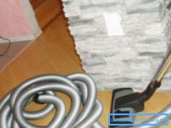 За счет своей эластичности гофрированные шланги применяются для переносных пылесосов