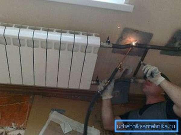 Замена радиаторов отопления на сварке – быстро и надёжно
