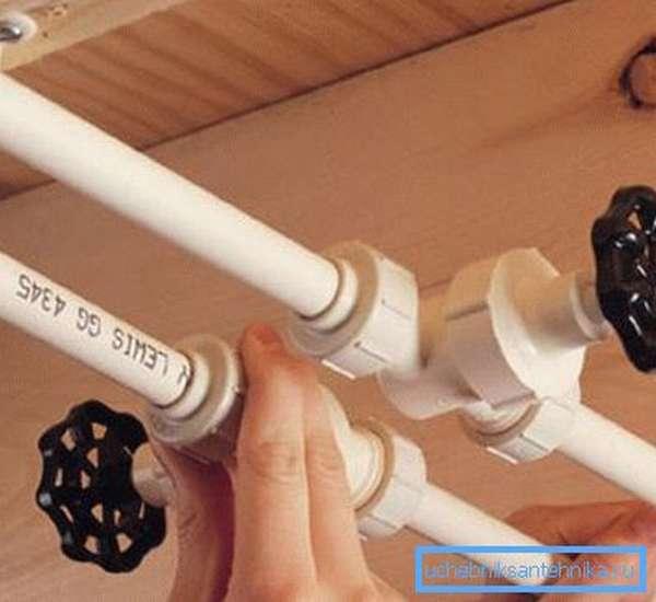 Замена труб водоснабжения в квартире: своими руками можно произвести эту работу быстро и качественно