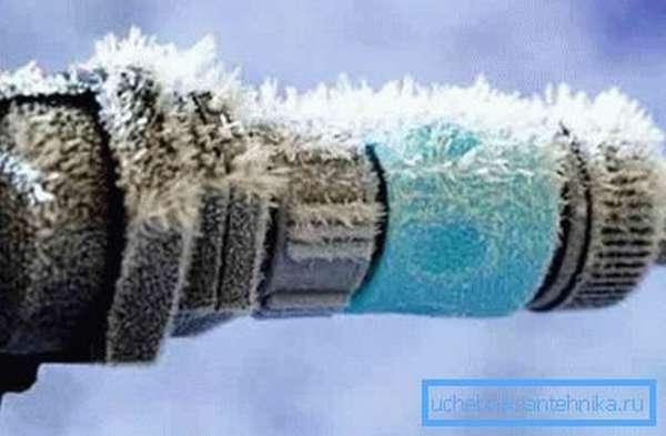 Замерзание жидкости и ее кристаллизация недопустимы.