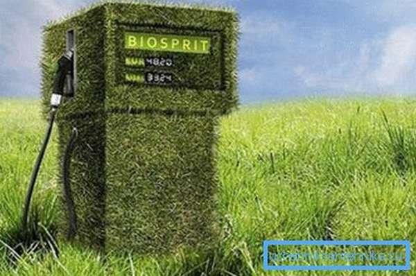 Зеленая заправка.