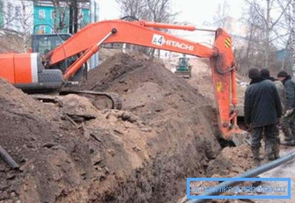 Земляные работы в обязательном порядке согласовываются с коммунальщиками