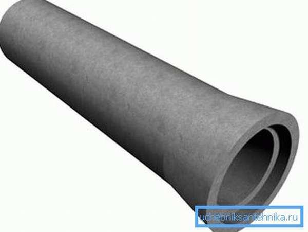 Железобетонная труба 400 мм диаметром