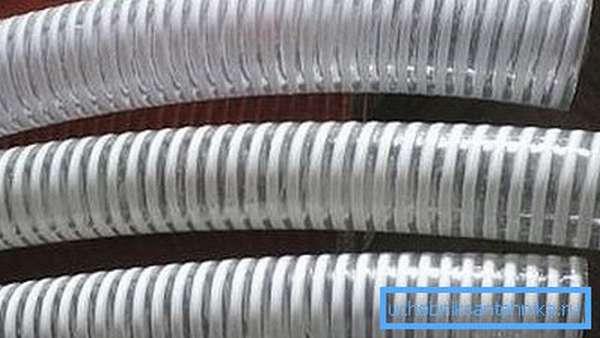 Жесткий гофрированный шланг для канализации, воды и другого использования